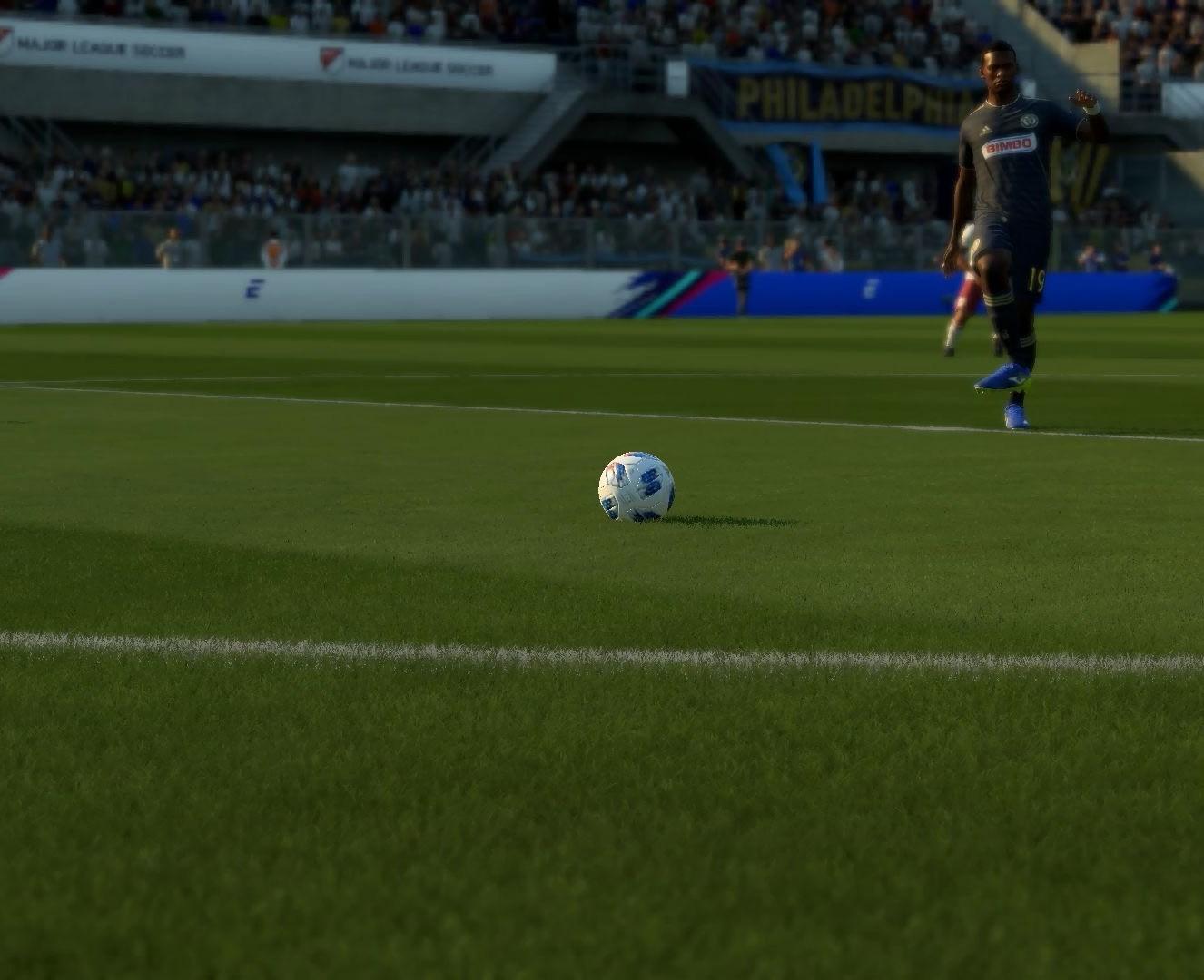 FIFA 19: Фикс на 3D газон