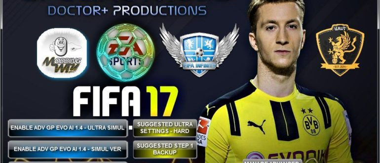FIFA 17 Advanced GP EVO Manager Tool Версия 2.0