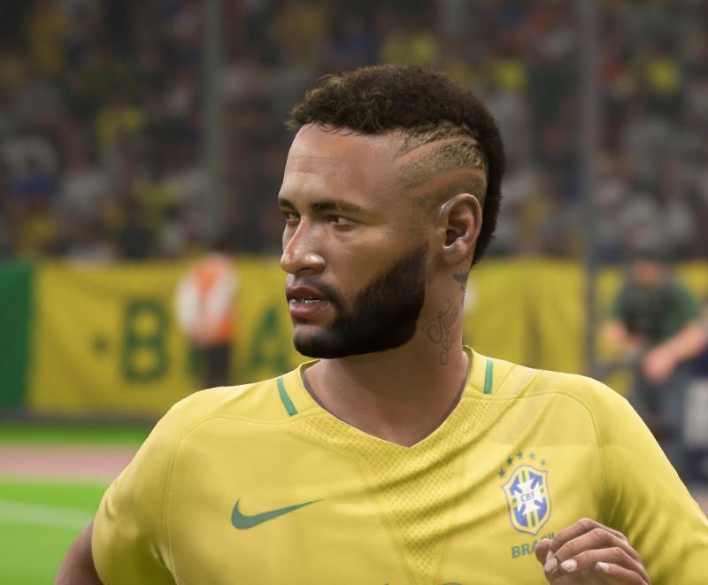 """FIFA 18 """"Обновленное лицо Неймара"""""""