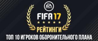 Топ 10 лучших защитников в FIFA 17