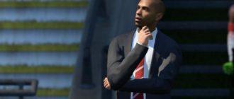 """FIFA 18 """"Тренер Тьери Анри в Арсенале"""""""