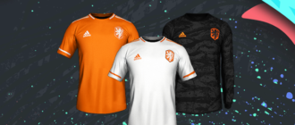 форму от Adidas для сборной Голландии
