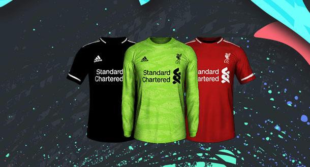 Форма от Adidas для Liverpool.