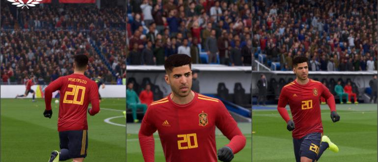 домашняя форма Испании 2020
