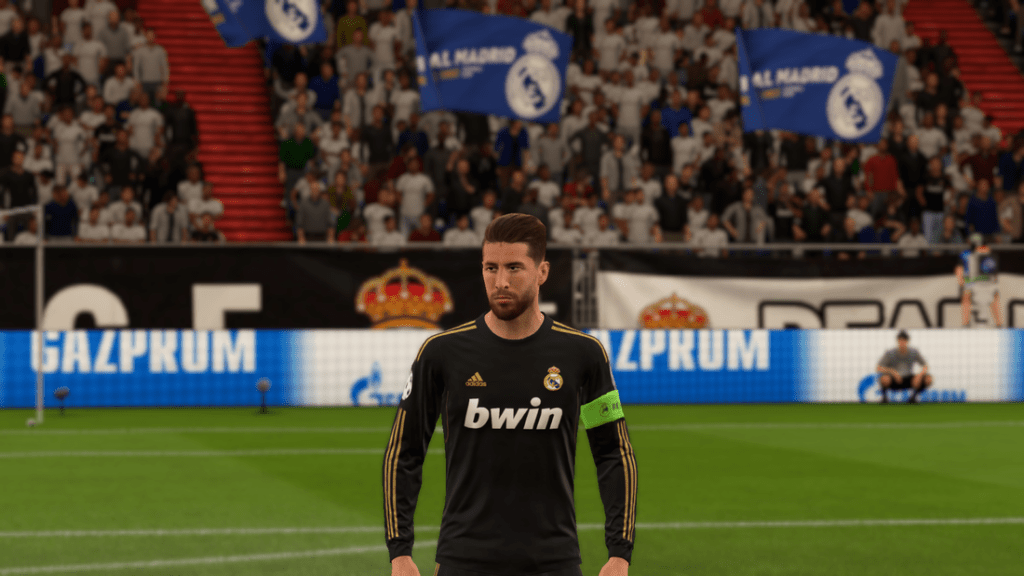 Гостевая форма Реал Мадрид 11/12
