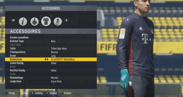 FIFA 17 Gloves Pack